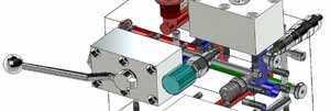 étude conception fonction de bloc foré hydraulique