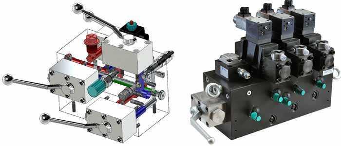 étude et fabrication de module fonction hydraulique