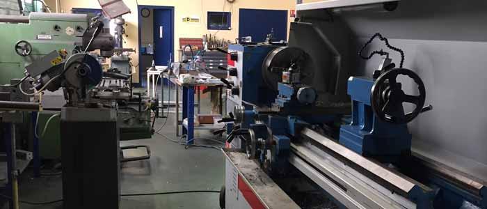 atelier usinage composant hydraulique