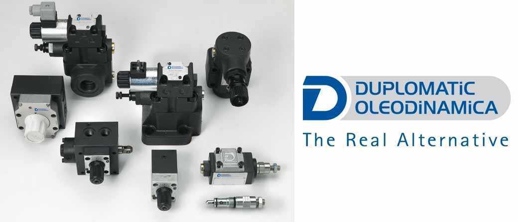 gamme de valves hydrauliques duplomatic oleodinamica