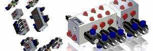 assemblage composants bloc foré